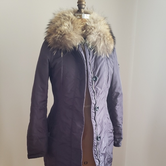 the latest 51aa7 22954 Peuterey Metropolitan Fitted Fur-Collar Parka